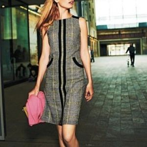 Boden British Tweed by Moon Shift Dress